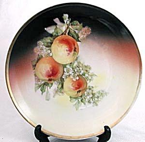 Vintage Peach Plate (Image1)