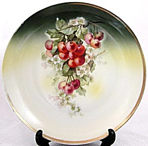 Vintage Cherry Plate
