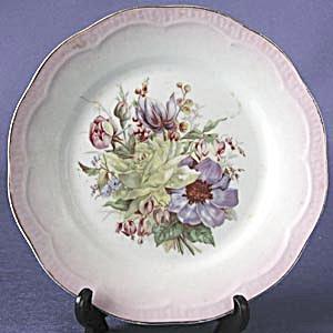 Vintage Floral Bouquet Plate (Image1)
