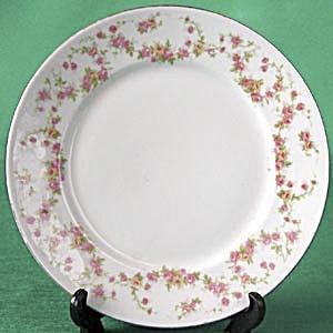 Vintage German Tiny Rose Plate (Image1)