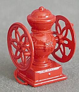 Metal Coffee Grinder & Water Pump Christmas Ornaments (Image1)
