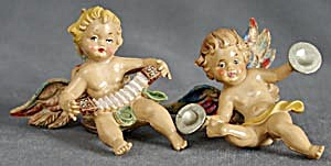 Vintage Angel Christmas Ornaments (Image1)