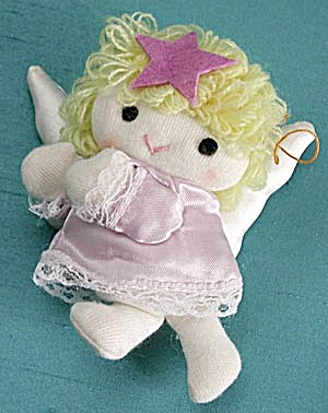 Vintage Russ Soft Angel Christmas Ornament (Image1)