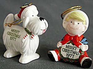Dennis the Menace & Ruff  Christmas Ornaments (Image1)