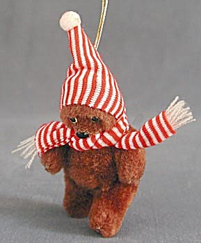 Teddy Bear Christmas Ornaments (Image1)