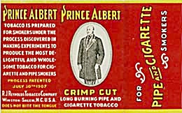 Vintage Prince Albert Cigarette Rolling Papers