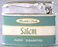 Vintage Salem Menthol Fresh Filter Cigarettes Lighter