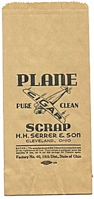 Pure Clean Cigar Plane Scrap Bag