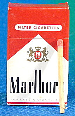 Marlboro Mini Fliptop Match Box