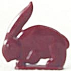 Cracker Jack Toy Prize: Rabbit (Image1)