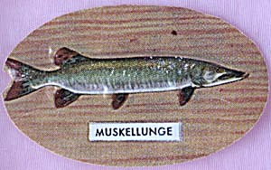 Cracker Jack Toy Prize: Muskellunge