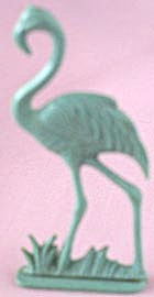 Cracker Jack Toy Prize: Flamingo (Image1)