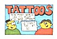 Cracker Jack Toy Prize: Tattoos
