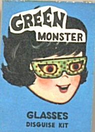 Cracker Jack Toy Prize: Disguise Kit Eye Glasses