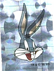 Cracker Jack Toy Prize:Looney Tunes Stickers (Image1)