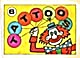 Cracker Jack Toy Prize: Tattoos Clown (Image1)