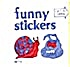 Cracker Jack Toy Prize: Funny Stickers