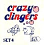 Cracker Jack Toy Prize: Crazy Clingers (Image1)