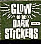 Cracker Jack Toy Prize: Glow In The Dark Stickers