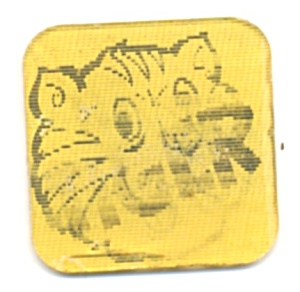 Cracker Jack Toy Prize: Tilt Card Tiger