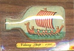 Cracker Jack Toy Prize: Viking Ship