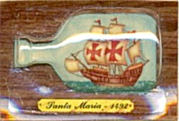 Cracker Jack Toy Prize: Santa Maria