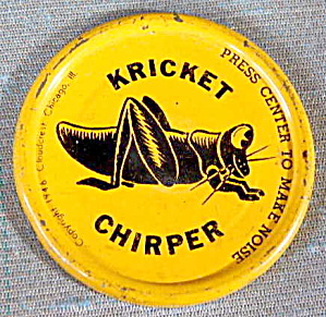 Cracker Jack Toy Prize: Kricket Clicker