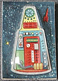 Cracker Jack Toy Prize: Sputnik Bubble Top (Image1)