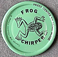 Cracker Jack Toy Prize: Frog Clicker