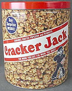 Cracker Jack Large Tin