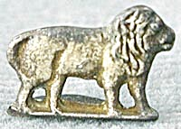 Cracker Jack Toy Prize: Metal Lion (Image1)