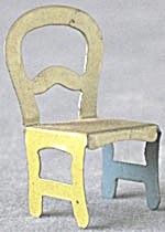 Cracker Jack Toy Prize: Metal Chair (Image1)