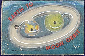 Cracker Jack Toy Prize: Moon Orbit Dexterity Game (Image1)