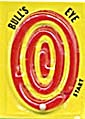 Cracker Jack Toy Prize: Bulls Eye Dexterity Game (Image1)