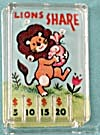 Cracker Jack Toy Prize: Pinball Lions Share (Image1)