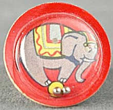 Cracker Jack Toy Prize: Elephant Dexterity Game