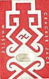 Cracker Jack Toy Prize: Whistle Embossed Man