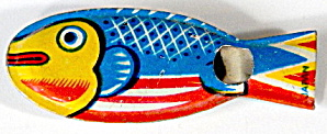 Cracker Jack Toy Prize: Fish Whistle