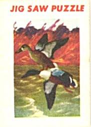Cracker Jack Toy Prize: Ducks Jig Saw Puzzle (Image1)