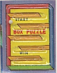 Cracker Jack Toy Prize:box Dexterity Game