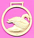 Cracker Jack Toy Prize: Watch Fob Swan (Image1)