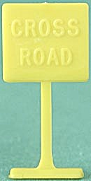 Cracker Jack Toy Prize: Traffic Sign (Image1)