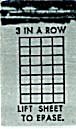 Cracker Jack Toy Prize: Lift To Erase Row (Image1)