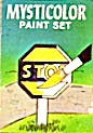 Cracker Jack Toy Prize: Mysticolor Paint Set