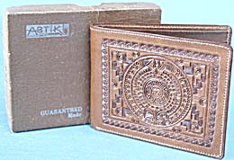 Vintage Leather Embossed Wallet
