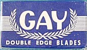 Gay Double Edge Blades