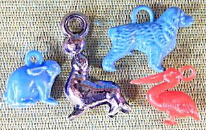 Vintage Plastic Mixed Animals  (Image1)