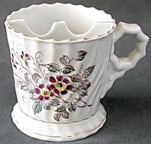 Vintage Floral  Shaving Mug (Image1)