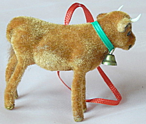 Wagner Kunstlerschutz Flocked Calf Ornament