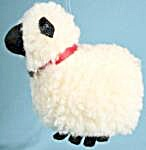 Wooly Lamb Christmas Ornament